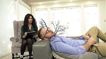 GenderX - Trans Therapist Gives Patient Big Dick Therapy
