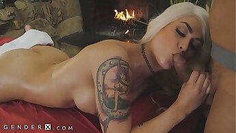 GenderX - Full Body Massage For Trans Babe