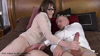 Big cocked stepdaddy fucks TS girl Claire Tenebrarum