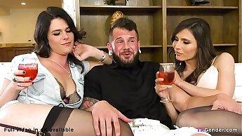 Johnny Hill fucks two shemales Korra Del Rio & Kendall Penny